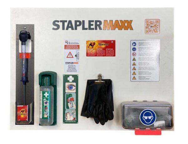 STAPLERMAXX Batterie Pflegewand