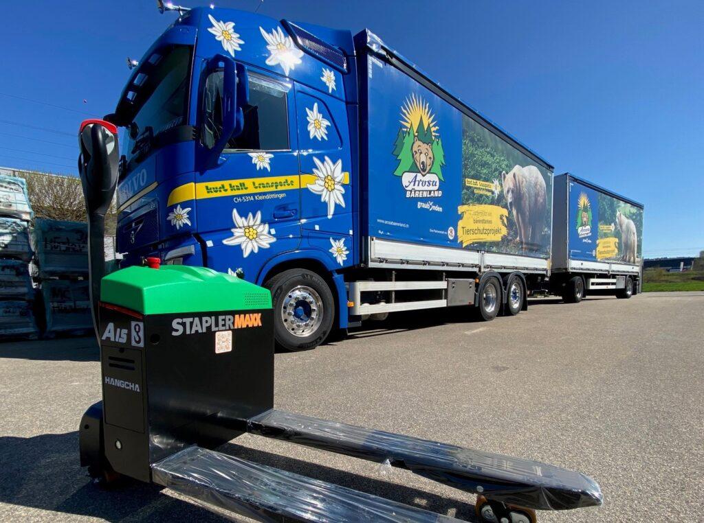 Kurt Kalt Transporte GmbH in Kooperation mit STAPLERMAXX